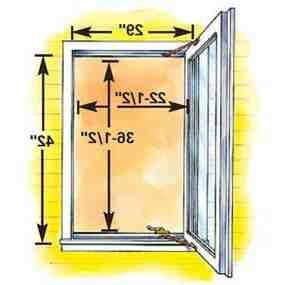 Comment choisir la taille d'une fenêtre ?