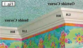 Comment couper moulure plafond angle